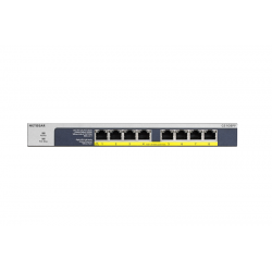 Switch 8 ports - 8xPoE+ -...